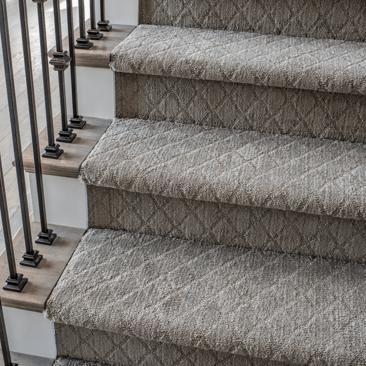 Stairway carpet | Birons Flooring Inc