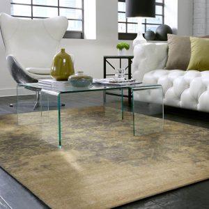 Area Rug in living room | Birons Flooring Inc
