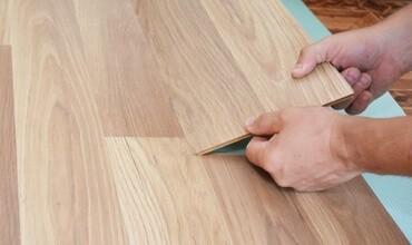 Laminate installation | Birons Flooring Inc